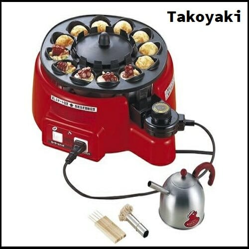 Takoyaki Machine Automatically Flips Food While Cooking