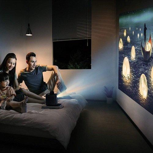Nebula Mars II Transform any room into a home cinema