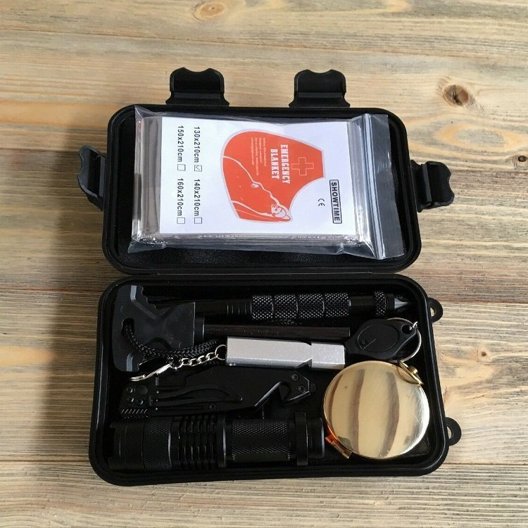 Survival first aid kit small and lightweight