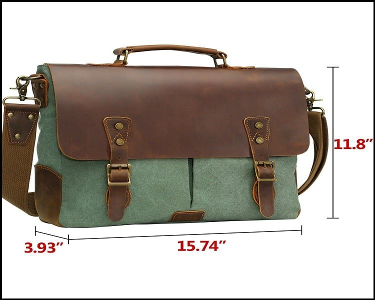 Leather and Canvas Messenger Bags 3
