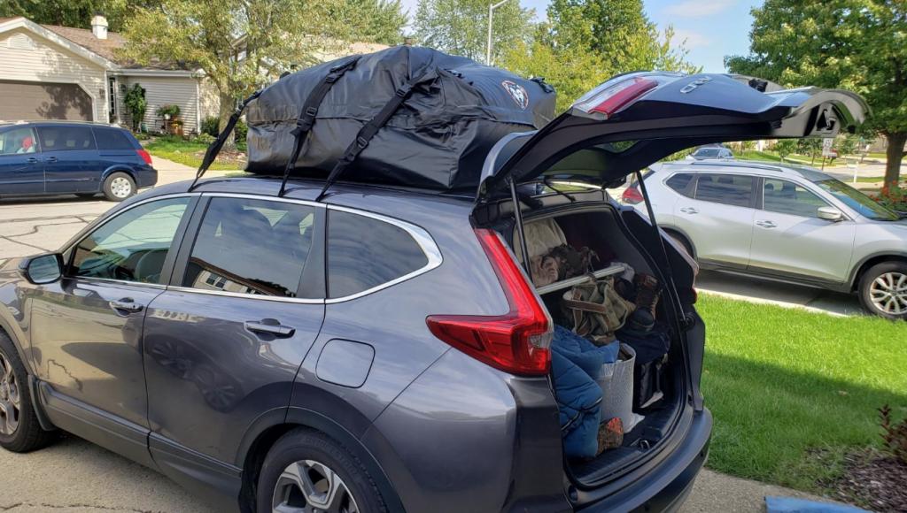CAR ROOFTOP BAG Premium Roof Top Cargo Bag