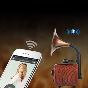 Bluetooth Speaker Phonograph Design