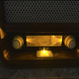 Fuse Vintage Bluetooth Radio Speaker