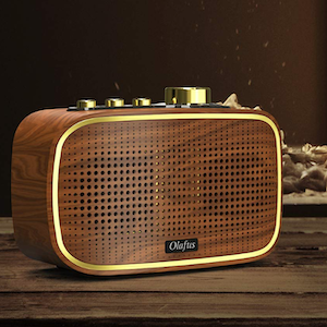 Olafus Retro Bluetooth Speakers