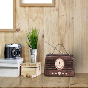 Retro bluetooth speakers