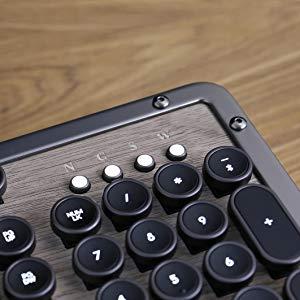 The Azio Retro luxury vintage backlit mechanical keyboard