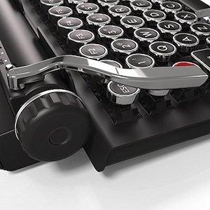 The Qwerkywriter S Retro Mechanical Keyboard