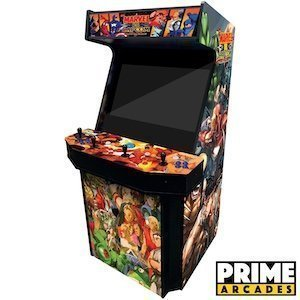 4 Player Upright Arcade Machine with 3,016 Games in 1