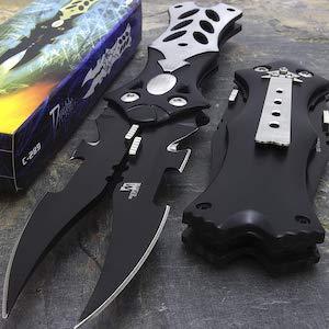 Double Blade Pocket Knife