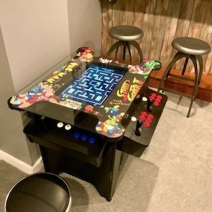 Prime Arcades Cocktail Arcade Machine Games