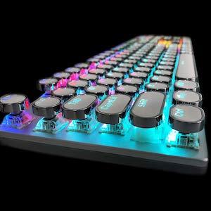 Retro Steampunk Mechanical Keyboard