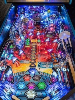 Star Trek Pro Arcade Pinball Machine