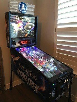 Stern Pinball Star Trek Pro