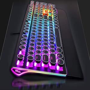 Typewriter Gaming Keyboard