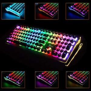 Typewriter Style Gaming Keyboard
