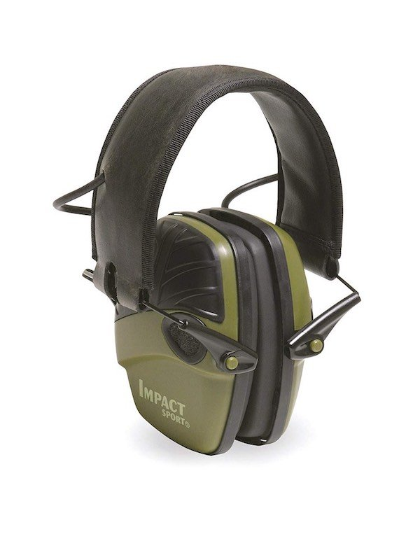 Howard Leight R-01526 Impact Sport Electronic Earmuff Best Hearing Protection For Shooting