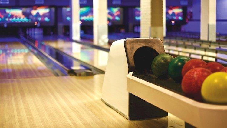 Bowling ball motion