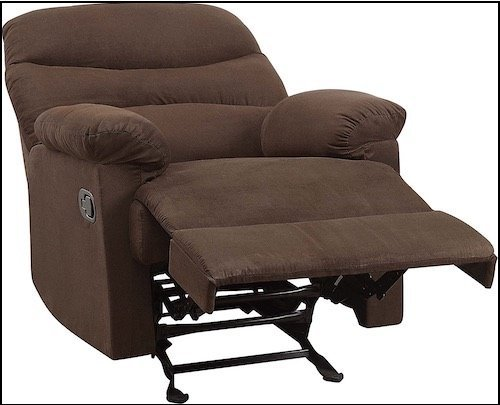 Microfiber Rocker Recliner Chairs