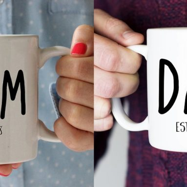 Personalized Anniversary Gifts for Parents