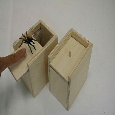 Spider Prank Scare Box