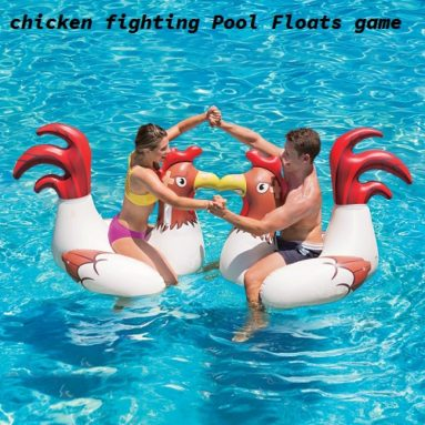 chicken fighting Pool Floats game