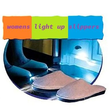 womens light up slippers
